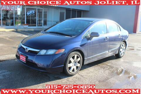 2008 Honda Civic for sale at Your Choice Autos - Joliet in Joliet IL