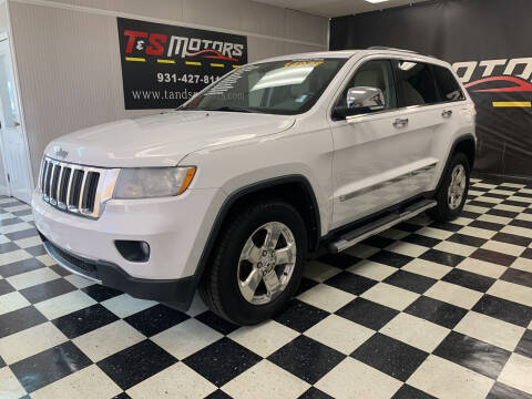 2013 Jeep Grand Cherokee for sale at T & S Motors in Ardmore TN