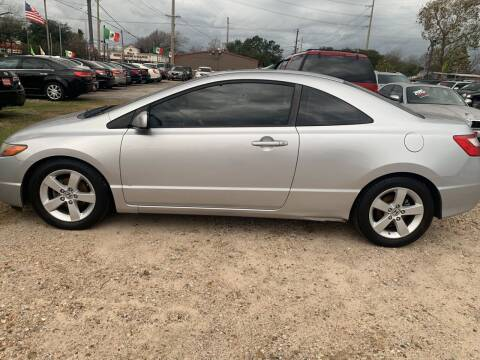 2008 Honda Civic for sale at FAIR DEAL AUTO SALES INC in Houston TX