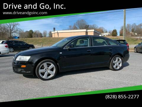 2008 Audi A6 for sale at Drive and Go, Inc. in Hickory NC