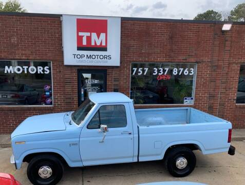 1985 Ford F-150 for sale at Top Motors LLC in Portsmouth VA