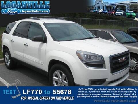 2014 GMC Acadia for sale at Loganville Quick Lane and Tire Center in Loganville GA