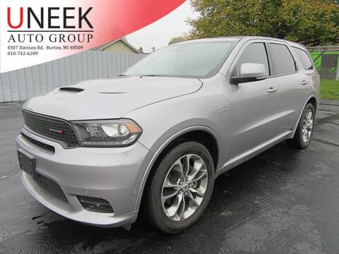 2020 Dodge Durango for sale at Uneek Auto Group LLC in Burton MI