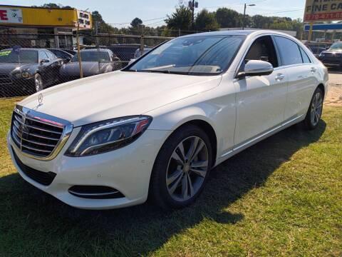 2015 Mercedes-Benz S-Class for sale at Atlanta Fine Cars in Jonesboro GA
