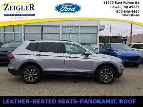 2020 Volkswagen Tiguan for sale at Zeigler Ford of Plainwell- Jeff Bishop in Plainwell MI