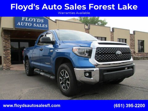2018 Toyota Tundra for sale at Floyd's Auto Sales Forest Lake in Forest Lake MN