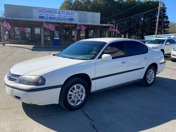 2003 Chevrolet Impala for sale at Greenbrier Auto Sales in Greenbrier AR