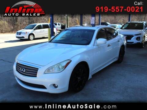 2012 Infiniti M37 for sale at Inline Auto Sales in Fuquay Varina NC