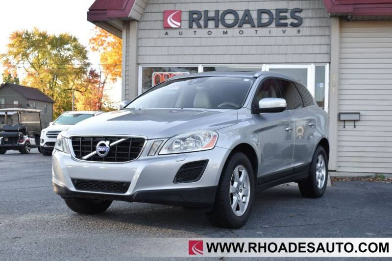 2012 Volvo XC60 for sale at Rhoades Automotive in Columbia City IN