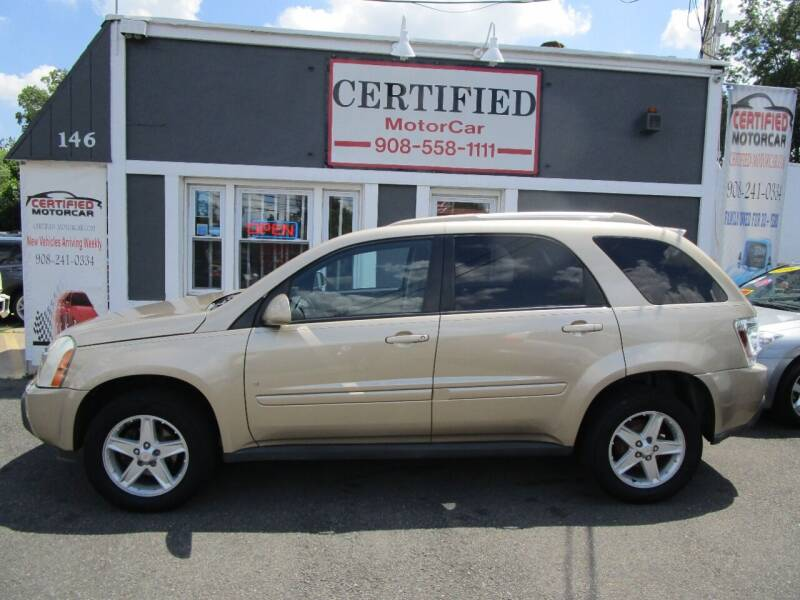 2006 Chevrolet Equinox for sale at CERTIFIED MOTORCAR LLC in Roselle Park NJ