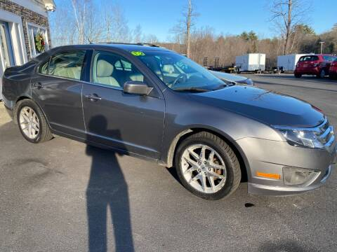 2012 Ford Fusion for sale at Mascoma Auto INC in Canaan NH