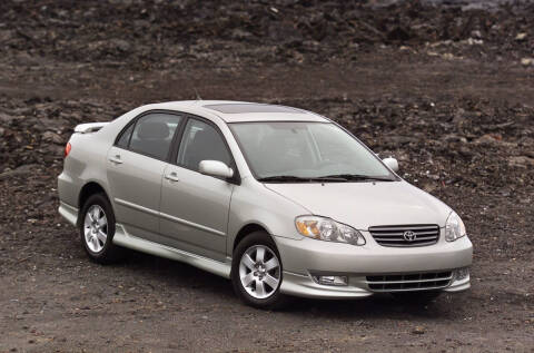 2003 Toyota Corolla for sale at Action Automotive Service LLC in Hudson NY