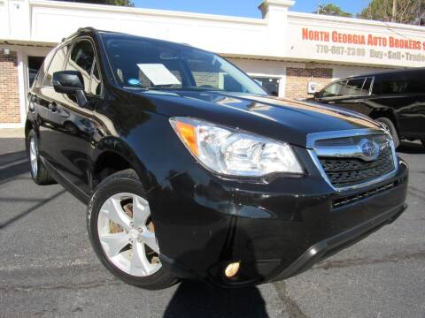 2014 Subaru Forester for sale at North Georgia Auto Brokers in Snellville GA