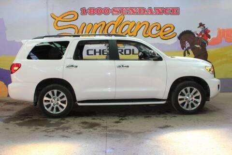 2013 Toyota Sequoia for sale at Sundance Chevrolet in Grand Ledge MI