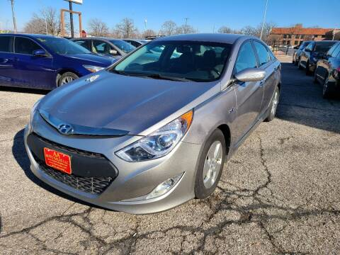 2012 Hyundai Sonata Hybrid for sale at AA Auto Sales LLC in Columbia MO
