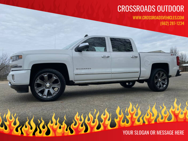2016 Chevrolet Silverado 1500 for sale at Crossroads Outdoor in Corinth MS