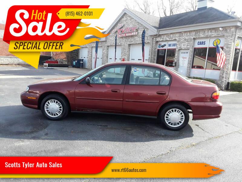 2003 Chevrolet Malibu for sale at Scotts Tyler Auto Sales in Wilmington IL
