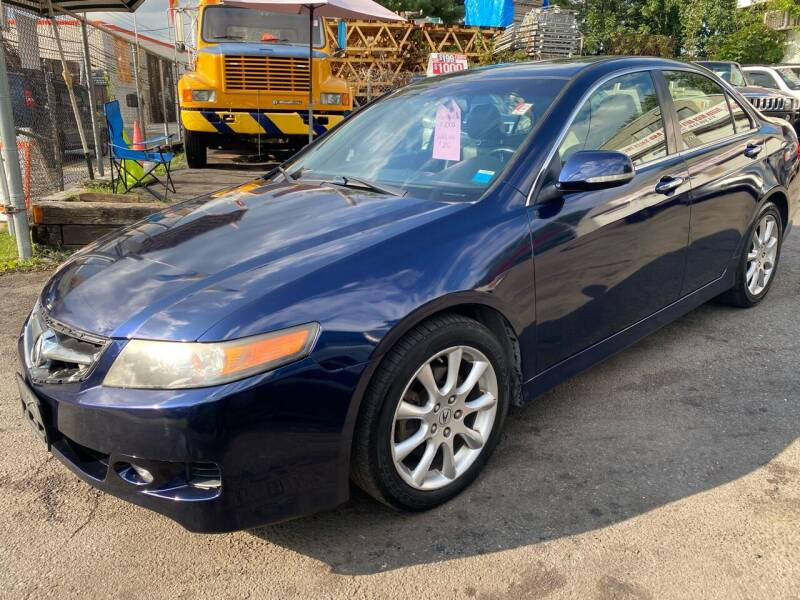 2007 Acura TSX for sale at White River Auto Sales in New Rochelle NY