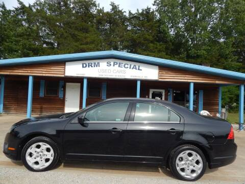 2010 Ford Fusion for sale at DRM Special Used Cars in Starkville MS