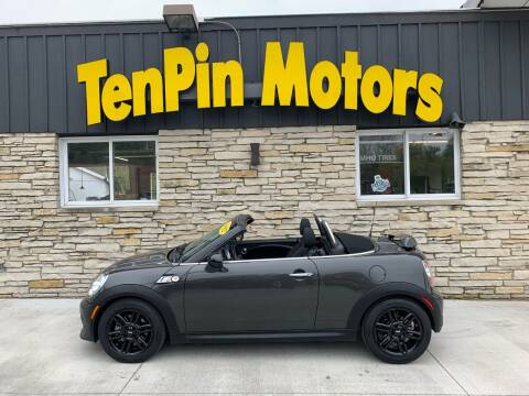 2012 MINI Cooper Roadster for sale at TenPin Motors LLC in Fort Atkinson WI