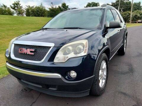 2011 GMC Acadia for sale at Happy Days Auto Sales in Piedmont SC