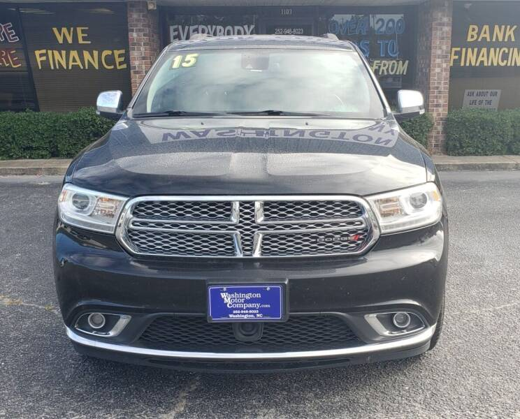2015 Dodge Durango for sale at East Carolina Auto Exchange in Greenville NC