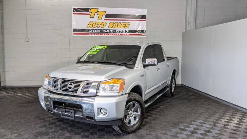 2015 Nissan Titan for sale at TT Auto Sales LLC. in Boise ID