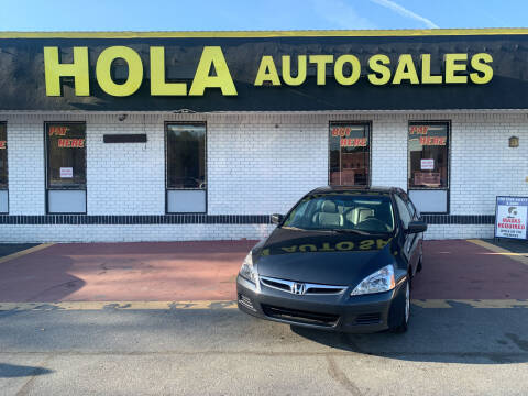 2006 Honda Accord for sale at HOLA AUTO SALES CHAMBLEE- BUY HERE PAY HERE - in Atlanta GA