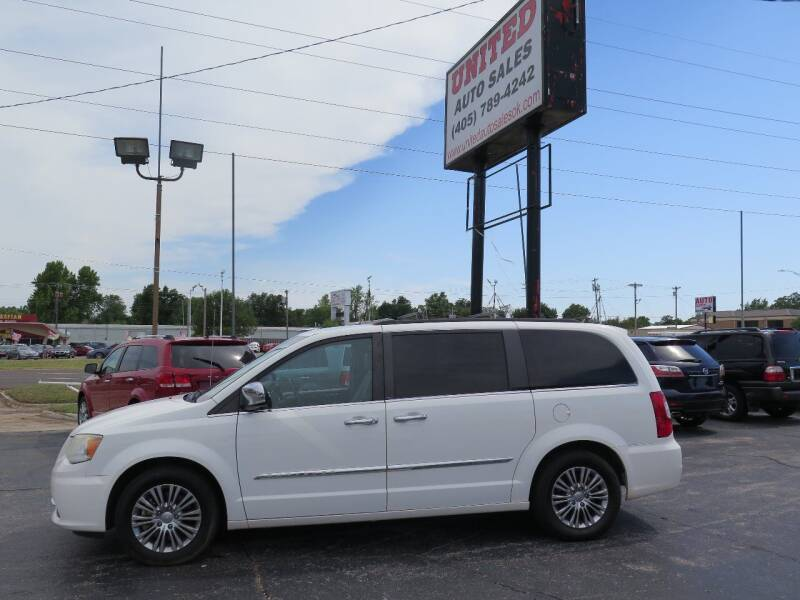 2013 Chrysler Town and Country for sale at United Auto Sales in Oklahoma City OK