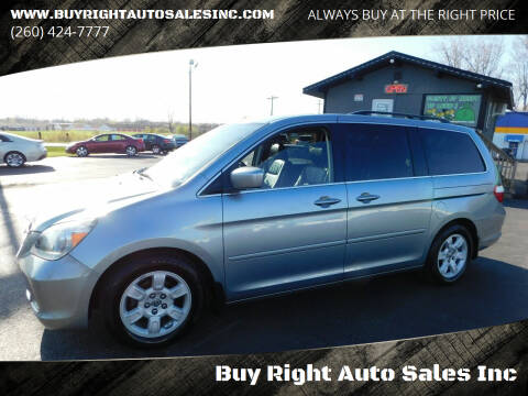 2007 Honda Odyssey for sale at Buy Right Auto Sales Inc in Fort Wayne IN
