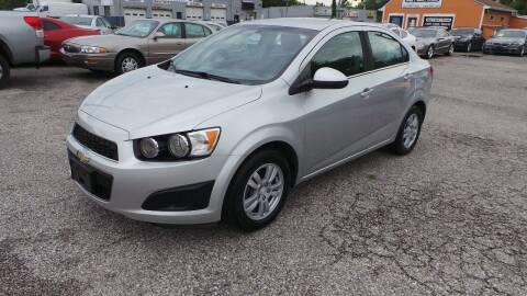 2015 Chevrolet Sonic for sale at Unlimited Auto Sales in Upper Marlboro MD