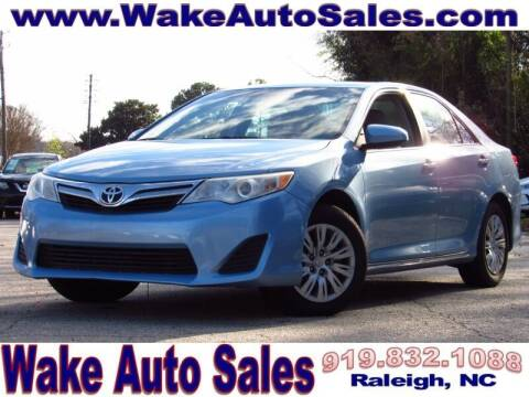 2012 Toyota Camry for sale at Wake Auto Sales Inc in Raleigh NC