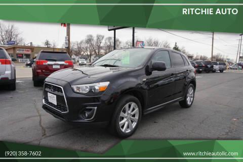2014 Mitsubishi Outlander Sport for sale at Ritchie Auto in Appleton WI