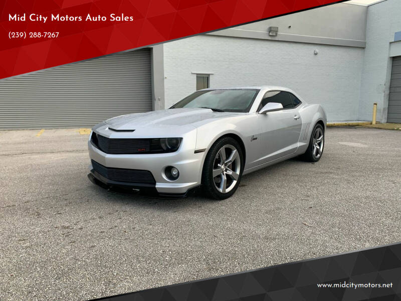 2010 Chevrolet Camaro for sale at Mid City Motors Auto Sales - Mid City South in Fort Myers FL