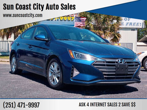 2020 Hyundai Elantra for sale at Sun Coast City Auto Sales in Mobile AL