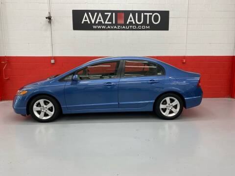 2007 Honda Civic for sale at AVAZI AUTO GROUP LLC in Gaithersburg MD