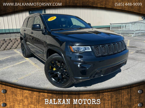 2018 Jeep Grand Cherokee for sale at BALKAN MOTORS in East Rochester NY