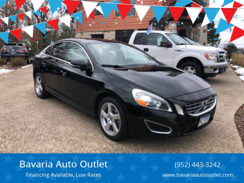 2013 Volvo S60 for sale at Bavaria Auto Outlet in Victoria MN