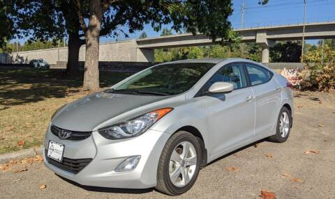 2013 Hyundai Elantra for sale at EXECUTIVE AUTOSPORT in Portland OR