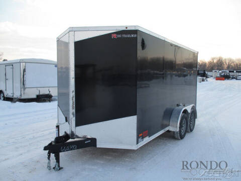 2021 RC Trailers Enclosed Cargo RDLX 7X14TA2