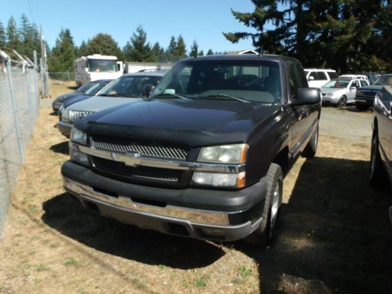 2004 Chevrolet Silverado 1500 for sale at Sun Auto RV and Marine Sales in Shelton WA