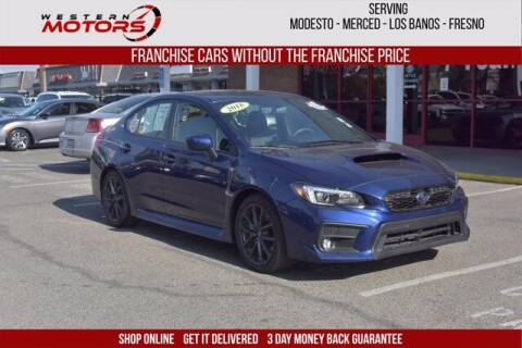 2018 Subaru WRX for sale at Choice Motors in Merced CA