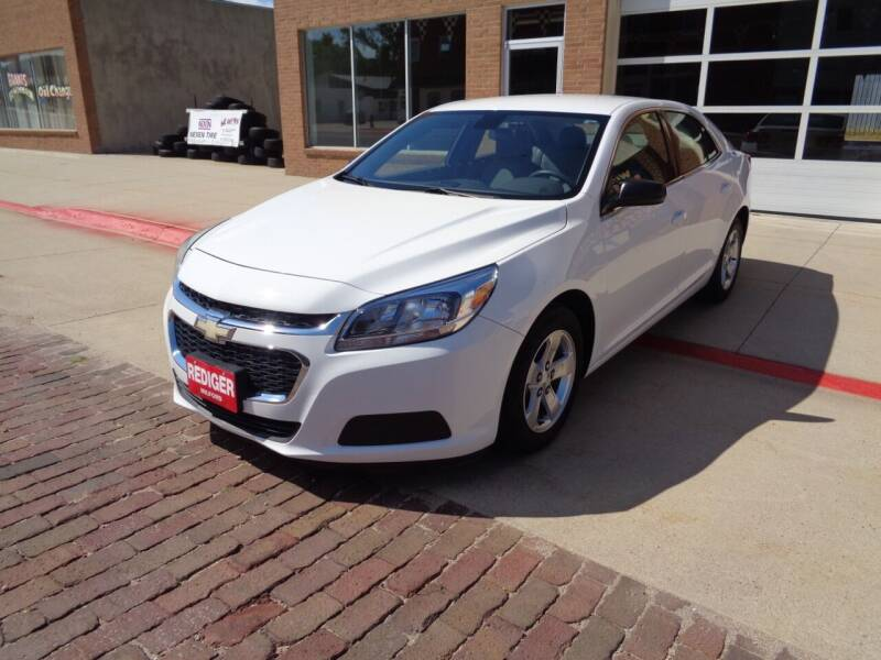 2015 Chevrolet Malibu for sale at Rediger Automotive in Milford NE