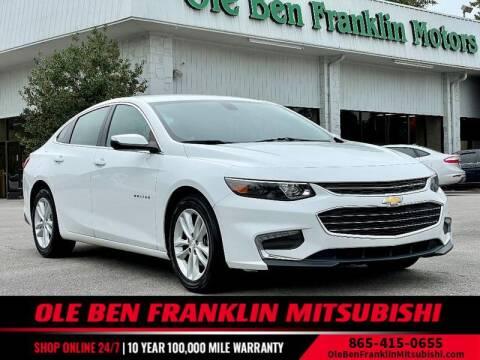 2018 Chevrolet Malibu for sale at Ole Ben Franklin Mitsbishi in Oak Ridge TN