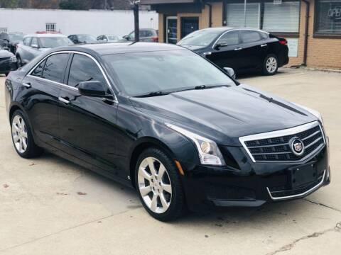 2013 Cadillac ATS for sale at Safeen Motors in Garland TX
