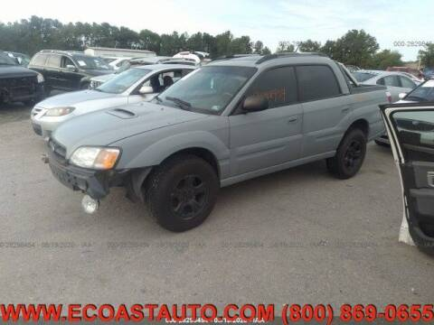 2004 Subaru Baja for sale at East Coast Auto Source Inc. in Bedford VA