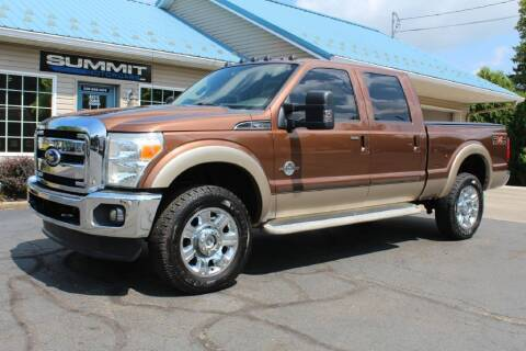 2011 Ford F-350 Super Duty for sale at Summit Motorcars in Wooster OH