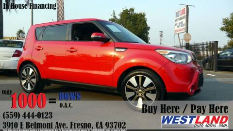2014 Kia Soul for sale at Westland Auto Sales in Fresno CA