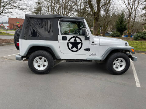 2006 Jeep Wrangler for sale at Valley Sports Cars in Des Moines WA