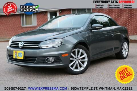 2012 Volkswagen Eos for sale at Auto Sales Express in Whitman MA